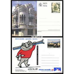 1991 España J-153 Club Irun Entero postales © Usado, Buen Estado  (Edifil)