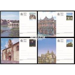 1994 España J-157/158 Ceuta Granada Entero postales © Usado, Buen Estado  (Edifil)