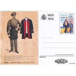 1997 España J-163/166 Zamora Palancia Burgos Segocia Entero postales © Usado, Buen Estado  (Edifil)