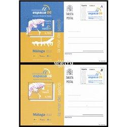 2003 España J-168/169 Policias Bomberos Entero postales   (Edifil)