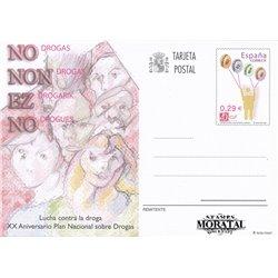 2005 España J-170 Dia del Sello Entero postales   (Edifil)