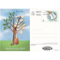 2008 España J-179 Solidaridad Entero postales   (Edifil)