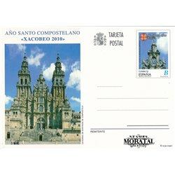 2009 España J-180/181 Cambio Climático Entero postales   (Edifil)