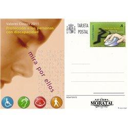 2010 España J-183 Reciclaje Entero postales   (Edifil)