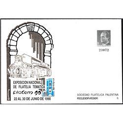 1989 España G-13 Exfilna '89. Toledo Sobres Oficiales   (Edifil)
