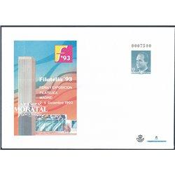 1992 España G-17/18 Madrid Sobres Oficiales   (Edifil)