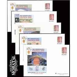 1999 España G-54 Paises Euro Sobres Oficiales   (Edifil)