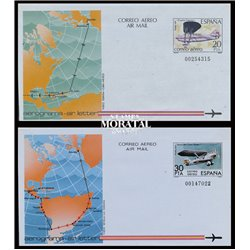 1981 España A-145/152 0 Aerogramas   (Edifil)