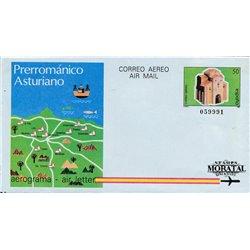1984 España A-207/208 Foronda Gerona Aerogramas   (Edifil)