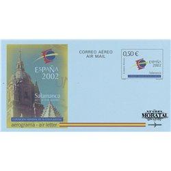 1997 España A-222 Atlantico Globo Aerogramas © Usado, Buen Estado  (Edifil)