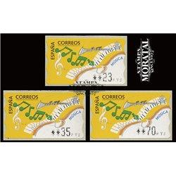 [06]  Spain ATM  1992 Music. Flute  . (Scott)