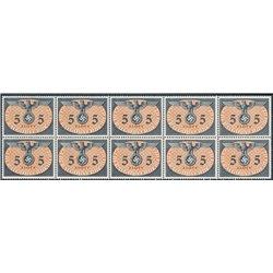[05] 1940 GG Dienst  15  B-10 Postfrisch **MNH LUXUS.  Wappen (Michel)