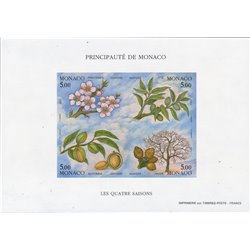 [05] 1993 Monaco  ND  **MNH LUXURY  . Four Seasons ND(Scott)