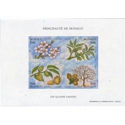 [05] 1993 Monaco  ND  Postfrisch **MNH LUXUS.  Vier Jahreszeiten ND (Michel)