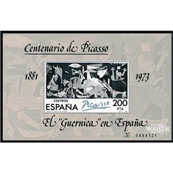 1981 Spain 0 Picasso-Guernica Painting **MNH Very Nice  (Scott)