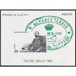 1990 Spain 0 PO Stamps day  **MNH Very Nice  (Scott)