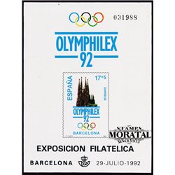 1992 Spain 0 PO Olympiad III  **MNH Very Nice  (Scott)