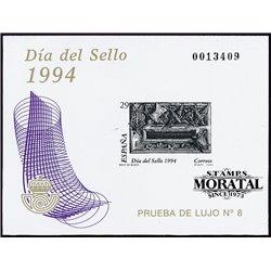 1994 Spain 0 PO Stamps day  **MNH Very Nice  (Scott)