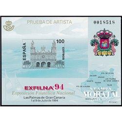 1994 Spain 0 PO Exfilna'94  **MNH Very Nice  (Scott)