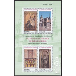 1997 Spain 0 PO Ages man  **MNH Very Nice  (Scott)