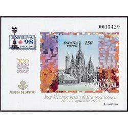 1998 Spain 0 PO Exfilna'98  **MNH Very Nice  (Scott)