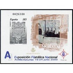 2000 Spain 0 PO Exfilna 2000  **MNH Very Nice  (Scott)