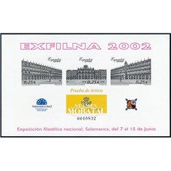 2002 Spain 0 PO Exfilna 2002  **MNH Very Nice  (Scott)