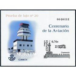 2003 Spain 0 PO Cent. Aviation  **MNH Very Nice  (Scott)