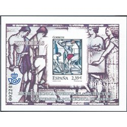 2006 Spain 0 PO Stained Glass Windows  **MNH Very Nice  (Scott)