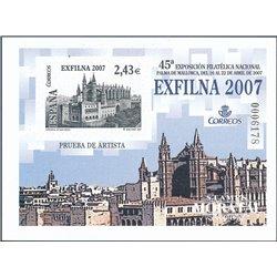 2007 Spain 0 PO Exfilna 07. Palma de Mallorca  **MNH Very Nice  (Scott)