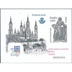 2008 Spain 0 PO Expo Zaragoza 2008. Goya  **MNH Very Nice  (Scott)