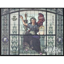 2008 Spain 0 PO Stained Glass Windows  **MNH Very Nice  (Scott)