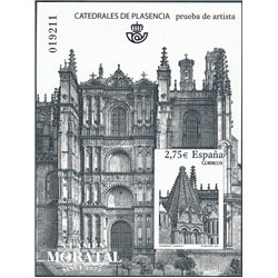 2010 Spain 0 PO Cathedral of Plasencia  **MNH Very Nice  (Scott)