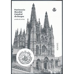 2012 Spain 0 PO Cathedral of Burgos  **MNH Very Nice  (Scott)