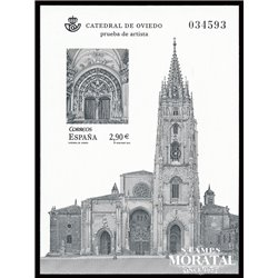 2012 Spain 0 PO Cathedral of Oviedo  **MNH Very Nice  (Scott)