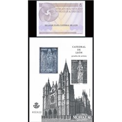 2012 Spain 0 PO Cathedral of León  **MNH Very Nice  (Scott)