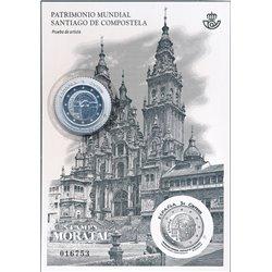 2018 Spain 0 PO Santiago de Compostela  **MNH Very Nice  (Scott)