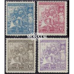1938 Espagne 0 Santiago Apostol  *MH TB Beau  (Yvert&Tellier)