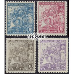 1938 Spain 0 Santiago Apostol  *MH Nice  (Scott)