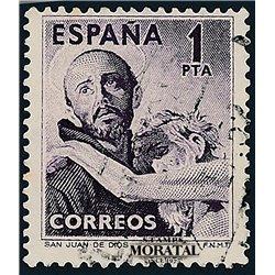 1950 Spanien 973  San Juan de Dios Religiös © Gebrauchte, Zustand  (Michel)