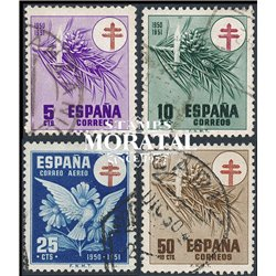 1950 Spain RA30/C11  Pro tuberculosis Charity © Used, Nice  (Scott)