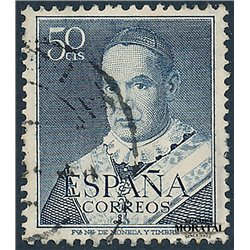 1951 Spain 775  Claret Personalities © Used, Nice  (Scott)