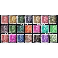 1955 Spain 815/835  General Franco Generic Series © Used, Nice  (Scott)