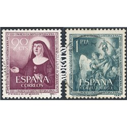 1952 Spain 792/C 137  Eucharistic Religious © Used, Nice  (Scott)