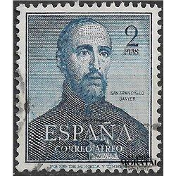 1952 Spain C138  San Francisco Javier  © Used, Nice  (Scott)