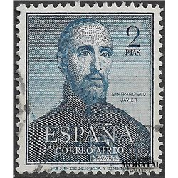 1952 Spain C138  San Francisco Javier  © Used, Nice  (Scott)
