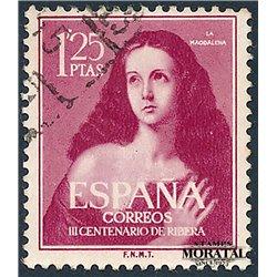 1954 Spain 798  Ribera Painting © Used, Nice  (Scott)