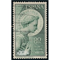 1956 Spain 852  San Gabriel  © Used, Nice  (Scott)