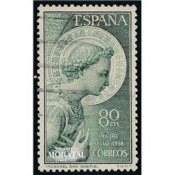 1956 Spanien 1092  San Gabriel  © Gebrauchte, Zustand  (Michel)
