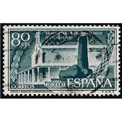 1956 Spain 856  Exaltation  © Used, Nice  (Scott)